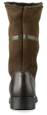 La Canadienne Kosmo Shearling-Lined Suede & Leather Boots'