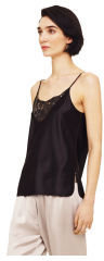 Club Monaco Camille Leather Inlay Tank