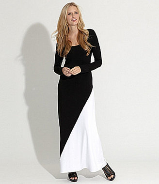 Karen Kane Long-Sleeve Maxi Dress