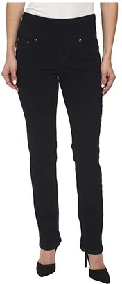 Jag Jeans Petite Petite Peri Pull-On Denim Straight Leg Jeans (After Midnight) Women's Jeans