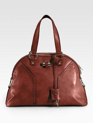 Yves Saint Laurent Large Leather Muse Bag