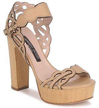 Alberto Gozzi TOBIA LINOU women's Sandals in Beige