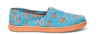 Toms Orange Pineapple Youth Classics