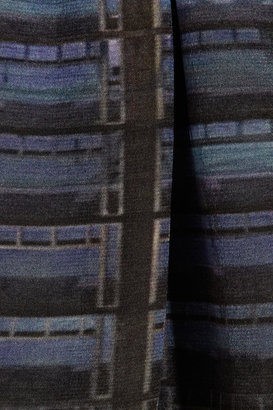 Theyskens' Theory Iding printed silk shorts