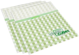 Container Store Clean Cubes® Trash Bins Gingham Pkg/3
