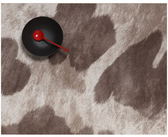 Chilewich Cowhide Placemat Brown Spots 2Pc