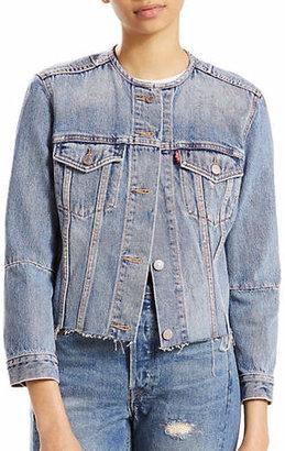 Levi's Altered Denim Trucker Jacket