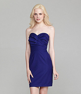 Aryn K Strapless Dress