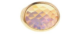 Irene Neuwirth Oval Rose Cut Lightening Ridge Opal Ring - Rose Gold