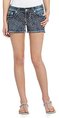 Miss Me Embellished Denim Shorts