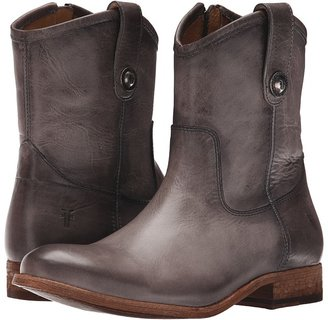 Frye - Melissa Button Short Cowboy Boots $278 thestylecure.com