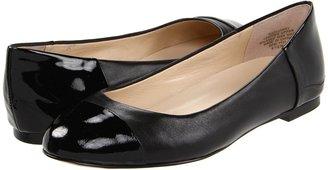 Jones New York Gillvany (Black/Black Leather) - Footwear