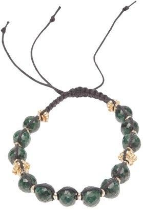 Stones Of Character woven macramé bracelet