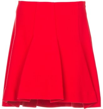 Space a-line skirt