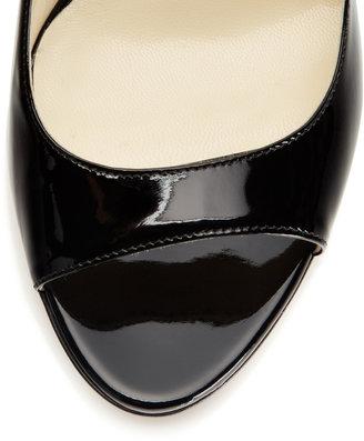 Brian Atwood Candice Peep-Toe High Pump