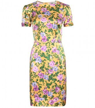 Nina Ricci Print silk dress