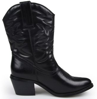 Journee Collection Fame Cowboy Boots - Women
