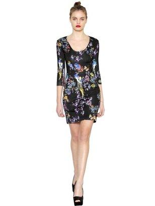 Just Cavalli Printed Viscose Jersey Dress