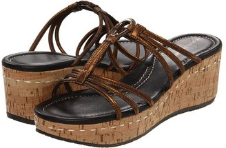 Donald J Pliner Sabir (Bronze/Bronze/Natural) - Footwear