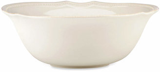 Lenox Dinnerware, French Perle Bead White Serving Bowl
