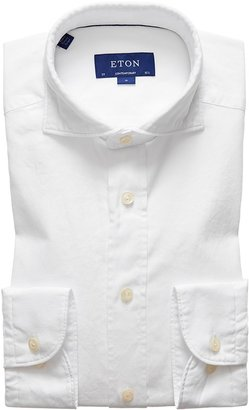 Eton Soft White Royal Oxford Shirt - Contemporary Fit