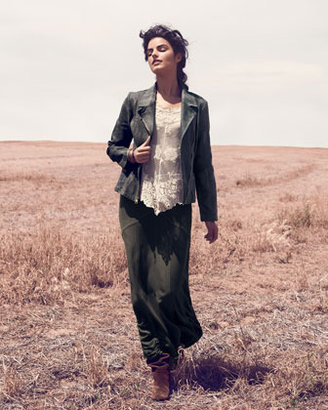 XCVI Pierrette Sheer Lace Top, Women's