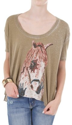 Chaser Tribal Horse Tee