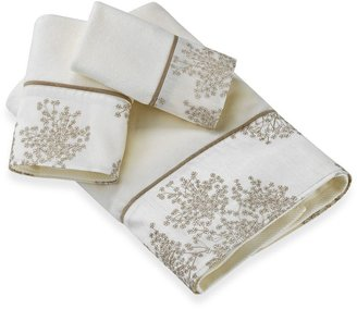 Laura Ashley Eleanora Gold/Cream Towel Collection