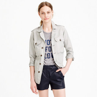 J.Crew Collection leather short