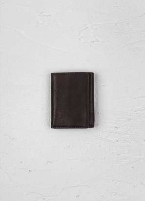 John Varvatos Leather Trifold Wallet