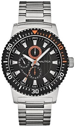 Nautica Unisex N18680G NST 16 Multi Function Watch $87.97 thestylecure.com