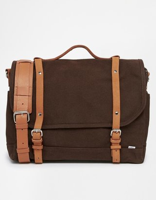 SANDQVIST Canvas Messenger Bag