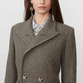 Denim & Supply Ralph Lauren Long Herringbone Coat