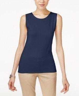 Alfani Sleeveless Layering Tank Top, Created for Macy's