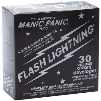 Manic Panic Flash Lightening 30 Volume Bleach Kit $10.49 thestylecure.com
