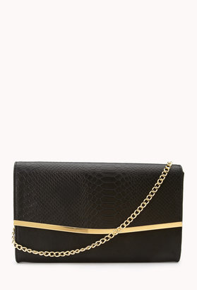 Forever 21 Luxe Envelope Crossbody
