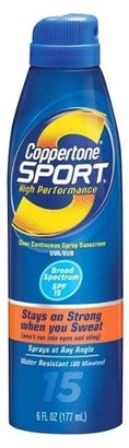 Coppertone Sport Sunscreen Spray SPF 15