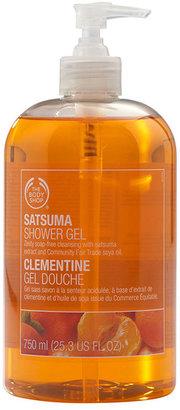 The Body Shop Jumbo Shower Gel, Satsuma 25.36 fl oz (750 ml)