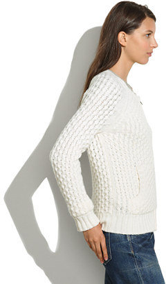 Madewell Honeycomb Sweater-Coat