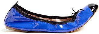 Bloch Blue Patent Luxury Ballet Pumps