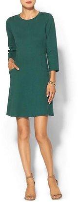 Pim + Larkin Ribbed Knit Mini Dress