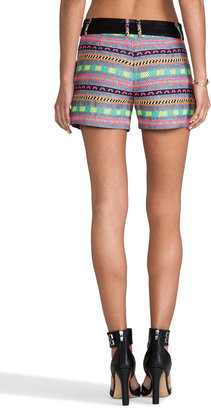 Milly Aztect Couture Tweed Side Pocket Short