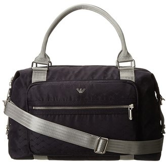 Armani Junior Logo Two Handle Diaper Bag (A5) - Bags and Luggage