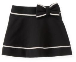 Janie and Jack Bow Tipped Ponte Skirt