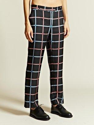 J.W.Anderson Women's Silk Cigarette Trousers