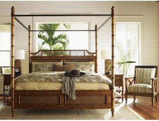 Tommy Bahama Home Island Estates Canopy Bed Size: Queen