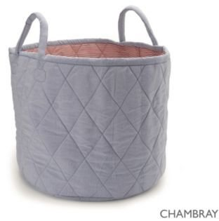 The White Company Chambray Storage Bag
