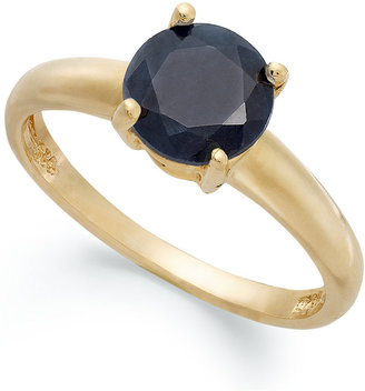Victoria Townsend 18k Gold over Sterling Silver Ring, Midnight Sapphire September Birthstone Ring (1-5/8 ct. t.w.)