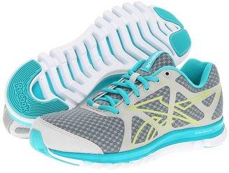 Reebok SubLite Duo Run (Anodized/Flat Grey/Coral Contrast/White/Solar Green) - Footwear