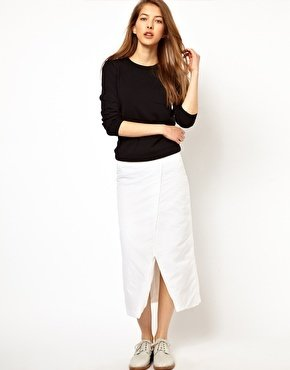 J.W.Anderson J W Anderson Padded Long Wrap Skirt
